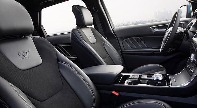 2019 Ford Edge Sport interior