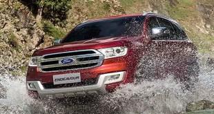 2019 Ford Endeavour exterior