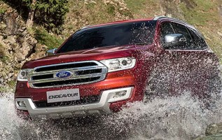 2019 Ford Endeavour exterior
