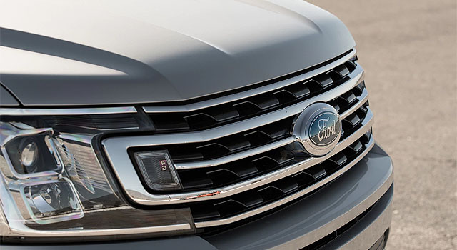 2019 Ford Expedition Hybrid grille