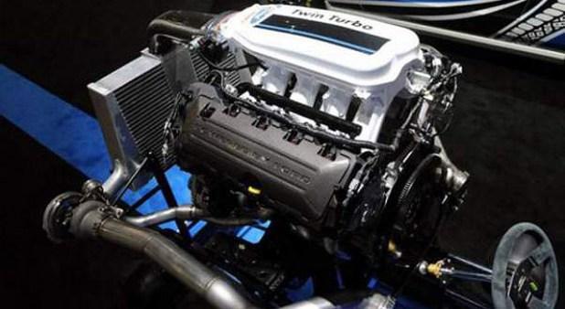 2019 Ford F-150 Hybrid motor