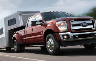 2019 Ford F-350 front