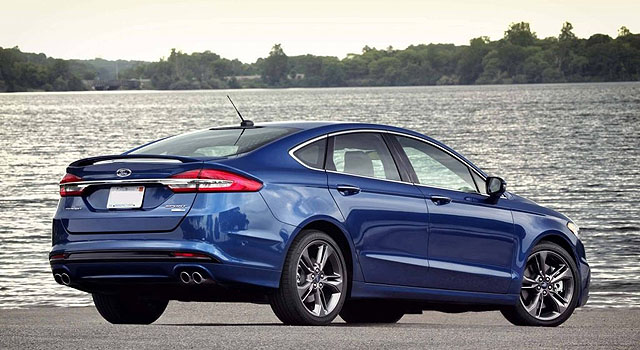 2019 Ford Fusion Sport rear