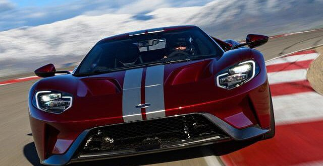 2019 Ford GT front