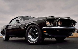 2019 Ford Mustang Boss 429 front