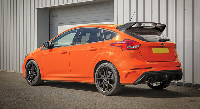 2020 Ford Focus RS back side