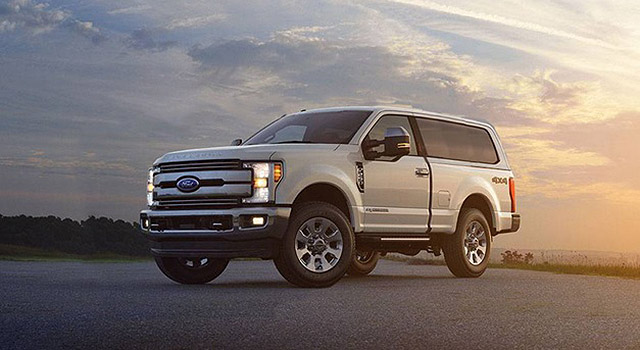 2019 Ford Excursion exterior