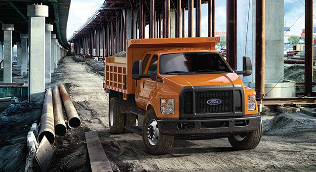 2019 Ford F-750 exterior
