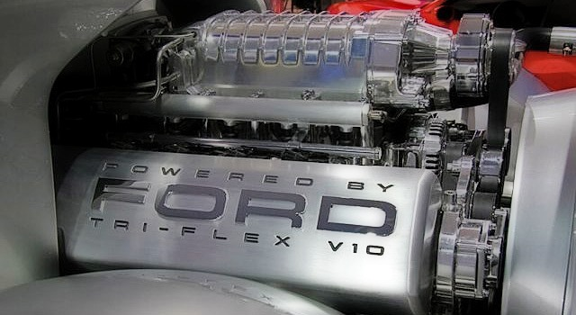 2019 Ford Super Chief engine