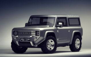 2019 Ford Bronco front