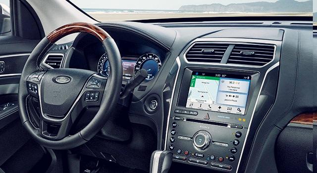2019 Ford Explorer and Explorer Sport interior