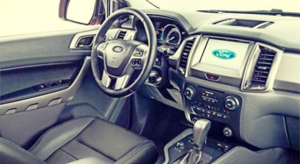 2019 Ford Model E interior