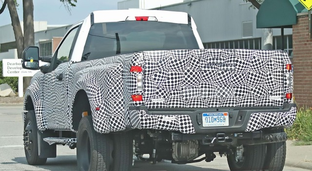 Redesign 2020 Ford F 250 Spied Under Heavy Camouflage Ford Tips