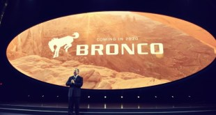 2020 Ford Bronco introduction