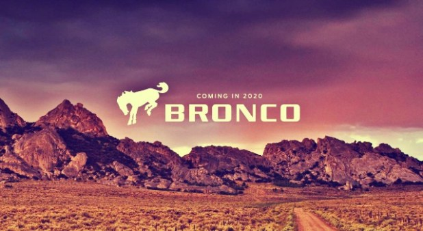 2020 Ford Bronco Poster