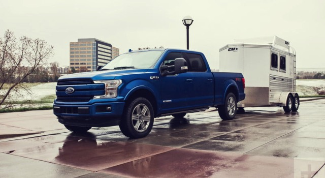 2020 Ford F150 Diesel exterior
