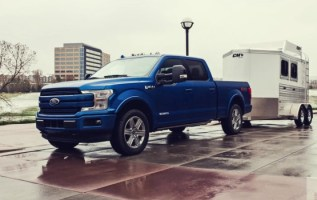 2020 Ford F150 Diesel exterior