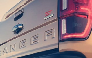 2021 Ford Ranger ST badge