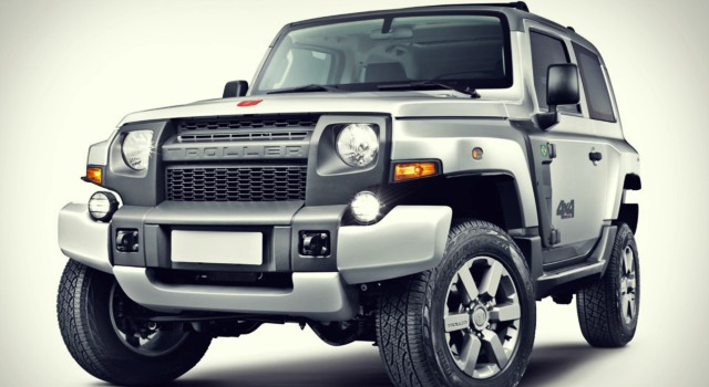 Ford Troller T4 front