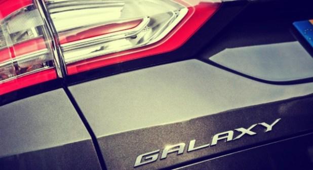2019 Ford Galaxy badge