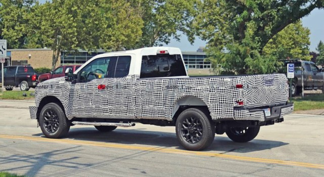 2020 Ford F-250 Super Duty spy shot