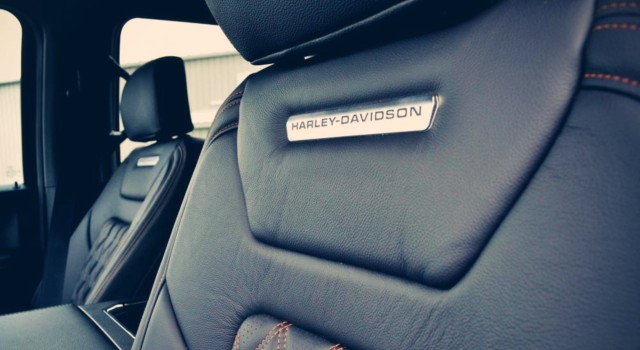 2020 Ford F-150 Harley-Davidson interior