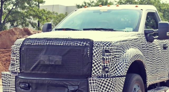 2020 Ford F-450 Spy Shots