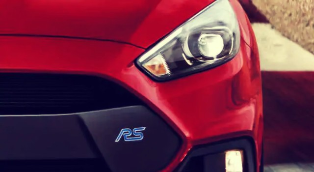2020 Ford Focus RS front