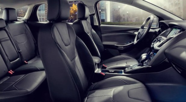 2020 Ford Focus Sedan interior