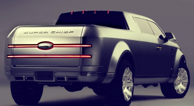 2020 Ford Super Chief rear