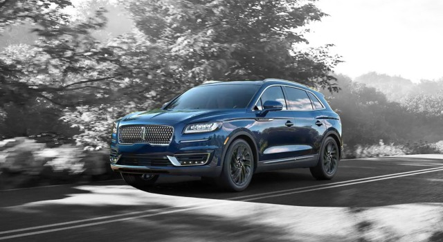 2020 Lincoln Nautilus design