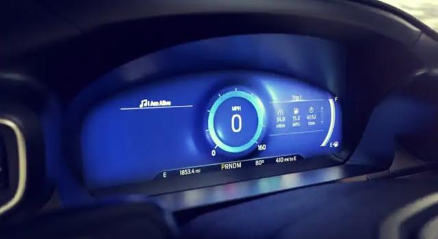 2020 Ford Explorer Platinum interior