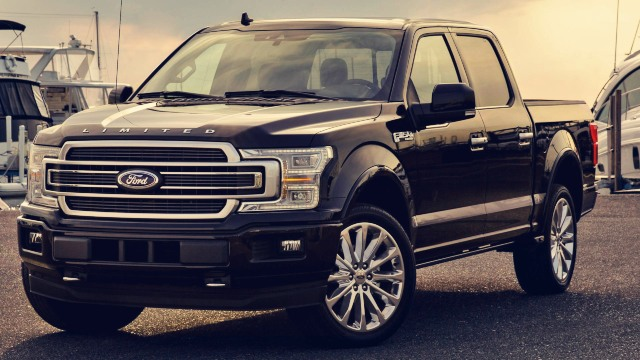 2020 Ford F-150 Limited exterior