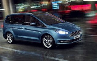 2020 Ford Galaxy facelift