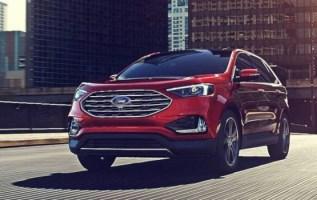 2021 Ford Edge facelift