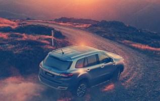 2020 Ford Everest Titanium design