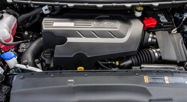 2020 Ford Bronco Raptor engine