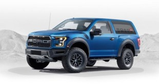 2020 Ford Bronco Raptor exterior