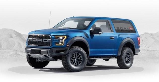 2020 Ford Bronco Raptor exterior