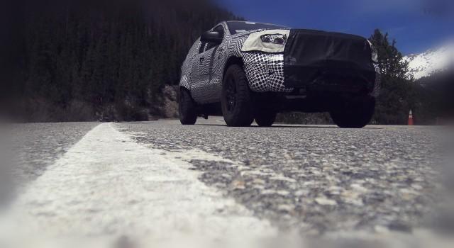 2020 Ford Bronco Raptor spy shot