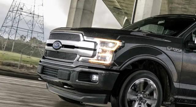 2020 Ford F-150 Platinum exterior