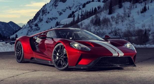 2021 Ford GT design