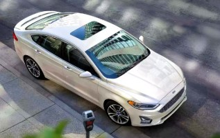 2020 Ford Fusion Hybrid exterior