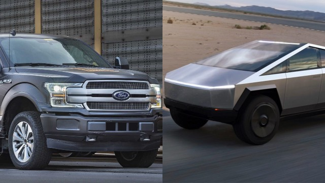 2021 Ford F-150 Electric Vs. Tesla Cybertruck
