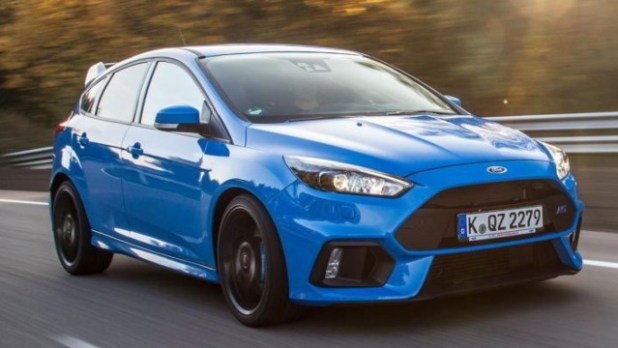 2021 Ford Focus RS exterior