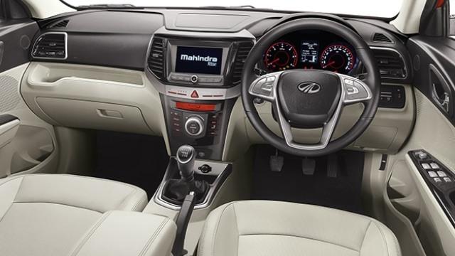 Mahindra XUV400 interior