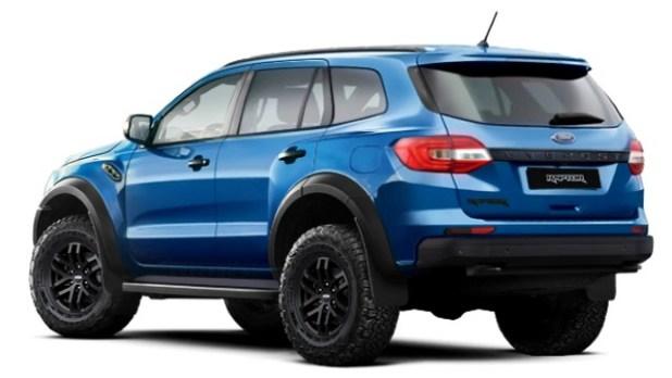 2021 Ford Everest Raptor