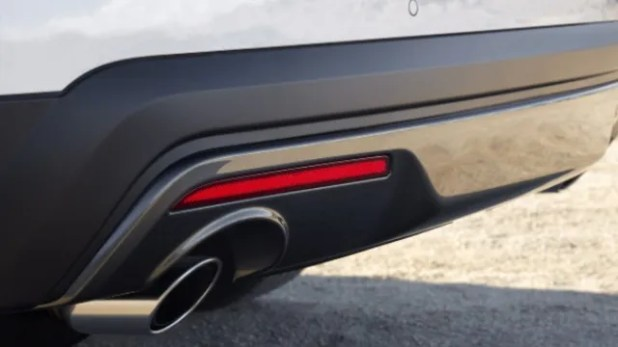 2021 Ford Explorer Sport exhaust