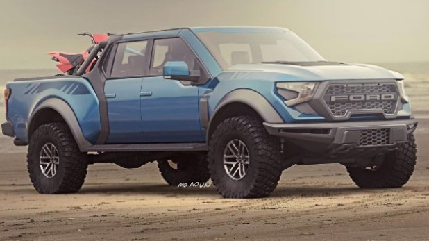 2021 Ford F-150 Raptor render
