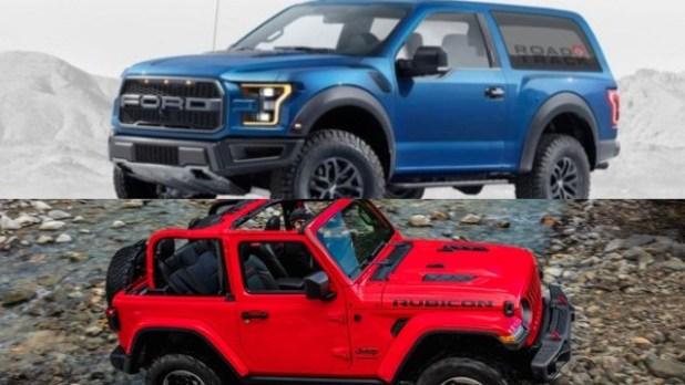 2021 Ford Bronco Raptor Wrangler Rubicon